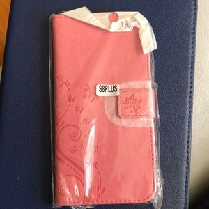 Samsung S8/S9 plus phone case (pink)